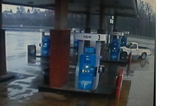 Armed robbery suspect's vehicle. Courtesy: Anderson Co. Sheriff's Office