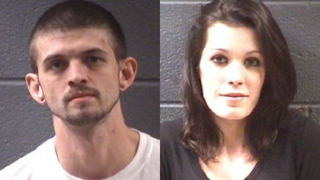 William Burden and Carmen Kincaid (Source: Asheville PD)