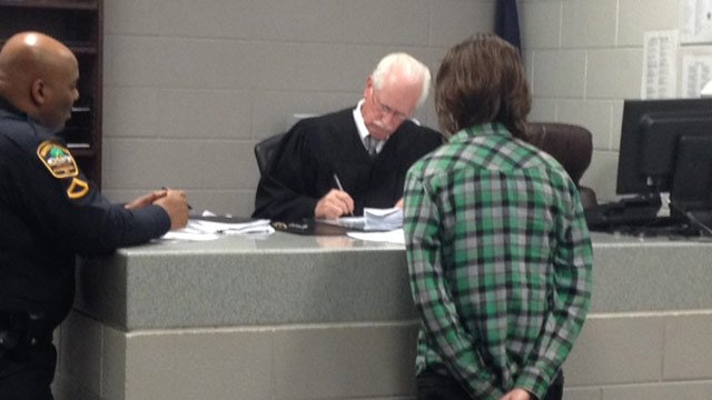 Baird was given a $3,100 bond on Monday night. (Dec. 16, 2013/FOX Carolina)
