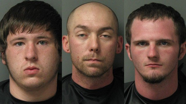 (From L to R) Devin McCrackin, Richard Rittmayer and Jon Wacaster (Source: Oconee Co. Sheriff's Office)