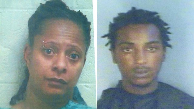 Karlia Desean Phillips and Tavirous Dequan Settles (Source: Abbeville Co. Sheriff's Office)