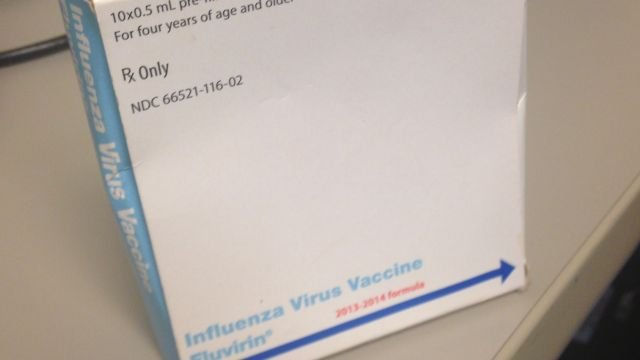 Doctors urge patients to get flu vaccine. (Dec. 18, 2013/FOX Carolina)