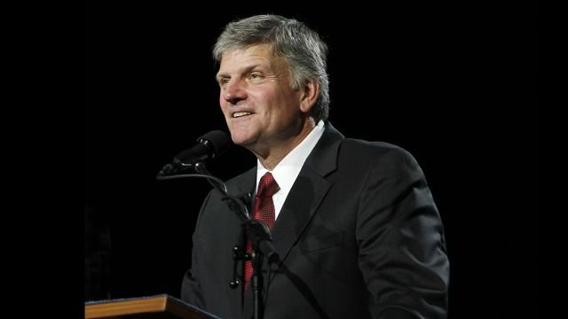 Franklin Graham, son of Rev. Billy Graham (PHOTO: BGEA)