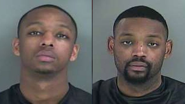 Demetrius (L) and Kenneth Brownlee (Courtesy: Anderson Co. Detention Center)