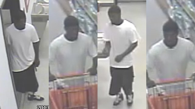 Police released surveillance photos from the Ollie's theft. (Source: Spartanburg PD)
