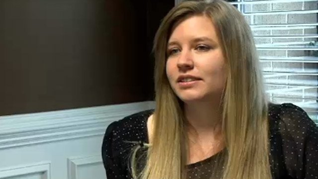 President of Upstate Atheists Eve Brannon talks with FOX Carolina about her auction. (Jan. 2, 2014/FOX Carolina)