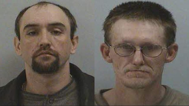 Anthony Lee Conner (Left) and Donny Aaron Stansberry (Source: McDowell Co. Sheriff's Office)