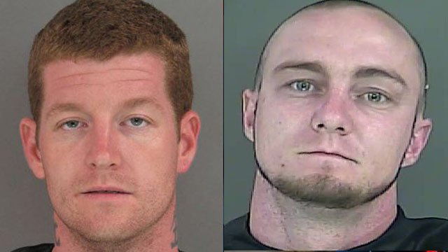 Billy Joe Crane (Left) and Jeremiah J. Holdbrooks (Source: Anderson Co. Sheriff's Office)