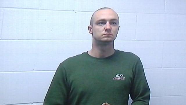 Jeremiah Holdbrooks appears before an Anderson Co. judge. (Jan. 10, 2014/FOX Carolina)