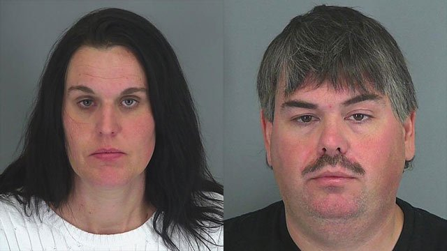 Christy Winkler (L) and Mark Winkler (Source: Spartanburg Co. Detention Center)