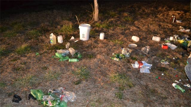 Deputies say they discovered one of the largest Polk Co. meth labs ever on Thursday. (Source: Polk Co. Sheriff's Office)