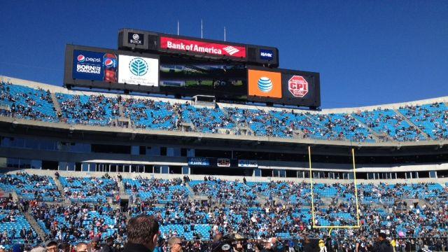 Panthers warm up in Charlotte (Fox Carolina)