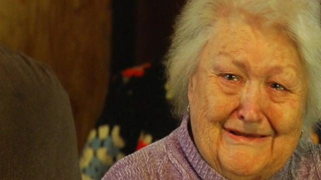 The victim Edna Winkler talked to FOX Carolina on Wednesday. (Jan. 15, 2014/FOX Carolina)