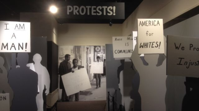 A look inside at the Upcountry History Museum's exhibit on the Civil Rights movement (Source: FOX Carolina/Jan.17, 2014)