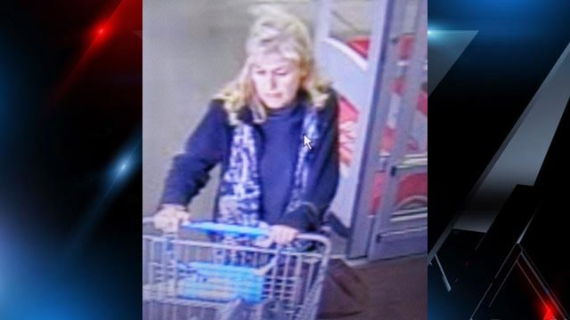 Police said this woman used counterfeit IDs to make fraudulent returns. (Source: Asheville PD)