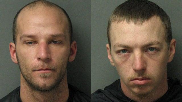 Joshua Michael Fulbright (left) and Patrick Grant Covone (Source: Oconee Co. Sheriff's Office)