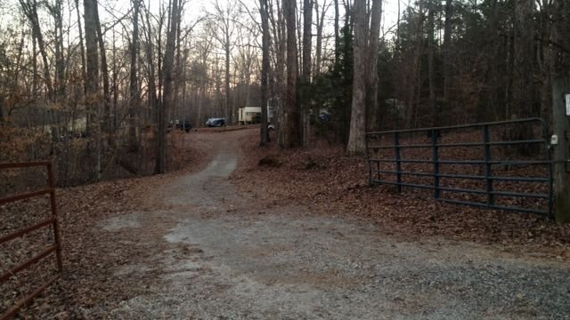 The area where human remains were found in Laurens Co. (Fox Carolina)