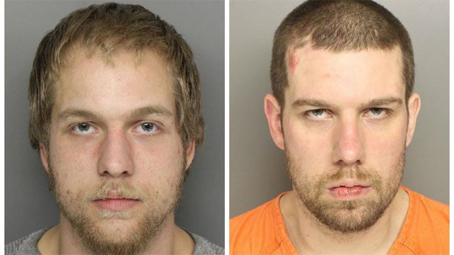 Arin (L) and Adam Chastain. (Source: Greenville Police Dept.)
