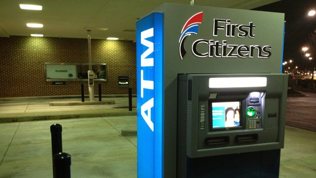 The armed robbery was reported at the First Citizens ATM at Cherrydale. (Jan. 22, 2014/FOX Carolina)