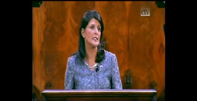 Gov. Nikki Haley (File: FOX Carolina)