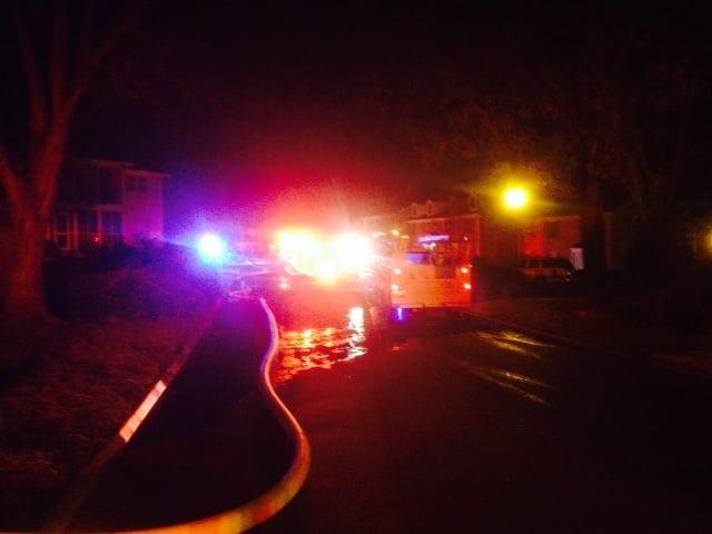 Fire at Riverbend Condos in Greenville (FOX Carolina/ Jan. 23, 2014)