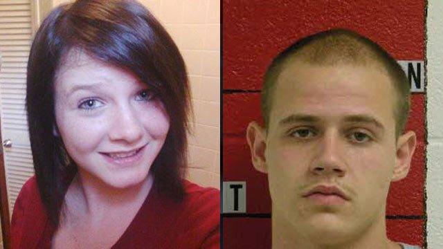 Destiny Taylor (L) and Dylan Hart. (Source: Swain Co. Sheriff's Office)