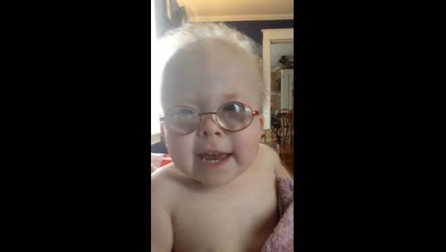 Grace, a 3-year-old from Kentucky, has been singing since she was 16 months old. (Source: YouTube)