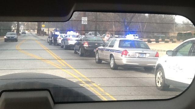 Chase ends in crash (Jan. 26, 2014/FOX Carolina)