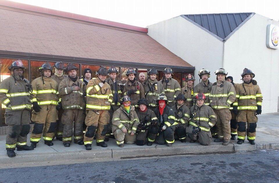 Fire damages Burger King (Courtesy Homeland Park FD)