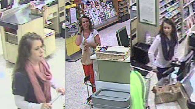 Deputies are trying to identify this woman after a cloned bank card was used in Greenville Co. (Source: Greenville Co. Sheriff's Office)