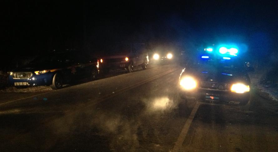 Deputies respond to the Berry Road death investigation. (Jan. 30, 2014/FOX Carolina)