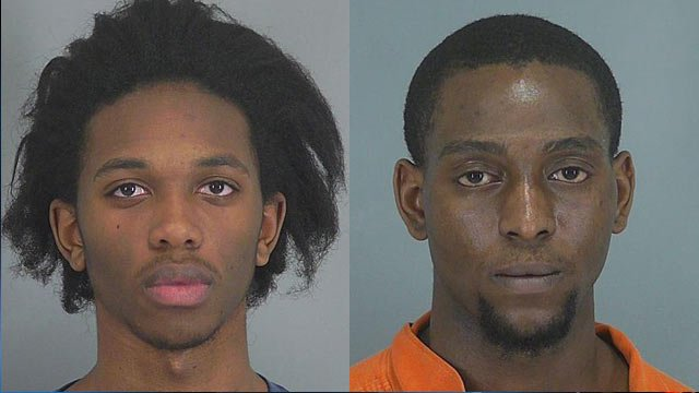 Deron Young (Left) and Trenton Murphy (Source: Greenville Co. Detention Center)
