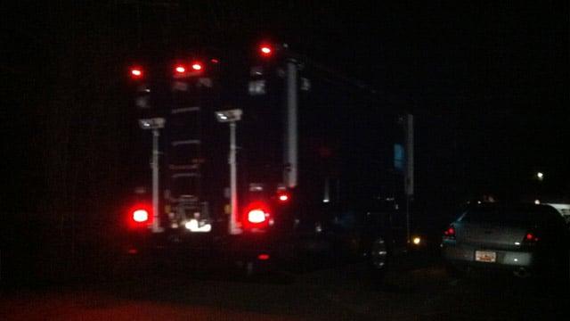 Greenville County Sheriff's investigators are on the scene in Greer. (Feb. 1, 2014/FOX Carolina)