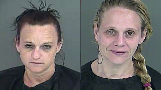 Stephanie Robinson (L) and Angela Rogers. (Source: Anderson Co. Sheriff's Office)