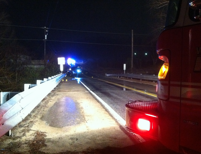 Authorities respond to the Archer Road call. (Feb. 4, 2014/FOX Carolina)