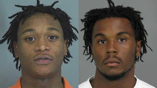 Dominick Thompson and Nicholas Bobo have been arrested and charged in the incident. (Source: Spartanburg Co. Sheriff's Office)
