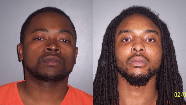 Deshanndon Franks (L) and Tevin Hill. (Source: Laurens Co. Sheriff's Office)