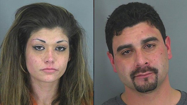 Angela McClure and Ernest McCumber (L) (Source: Spartanburg Co. Sheriff's Office)