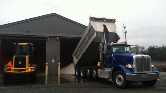 Spartanburg County getting ready for the storm. (Feb. 10, 2014/FOX Carolina)