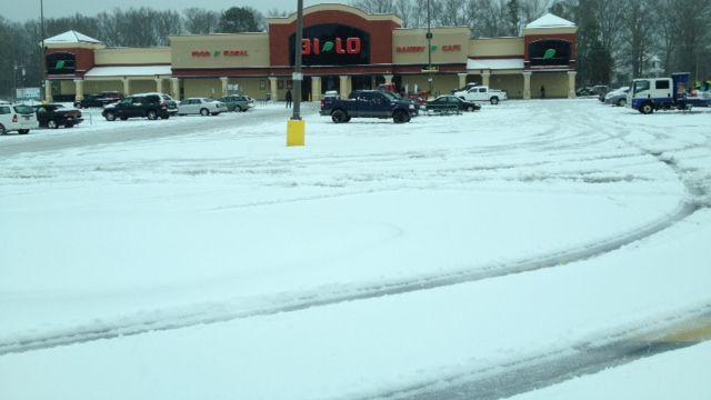 Greenwood road conditions (Fox Carolina)