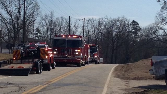 Crews put out brush fire on Westmoreland Rd. (Fox Carolina)