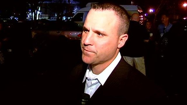 Keith Grounsell talks with FOX Carolina after the vote to reinstate him. (Feb. 25, 2014/FOX Carolina)