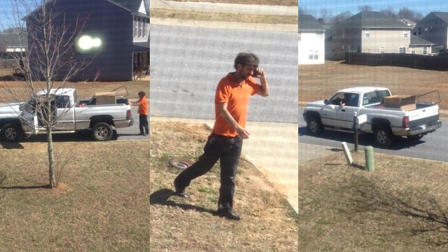 A man has been charged after police say he followed around a UPS truck and took packages. (Feb. 26, 2014/FOX Carolina)