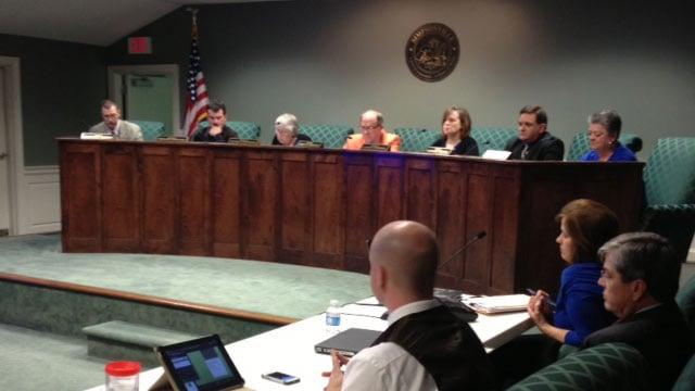 Simpsonville City Council (Feb. 25, 2014/FOX Carolina)
