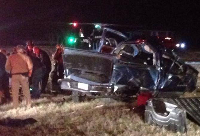 Good Hope Church Rd. crash (Courtesy: Scott Hawkins)