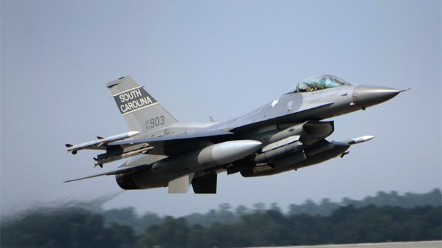 A South Carolina Air National Guard fighter jet. (Source: SCANG)