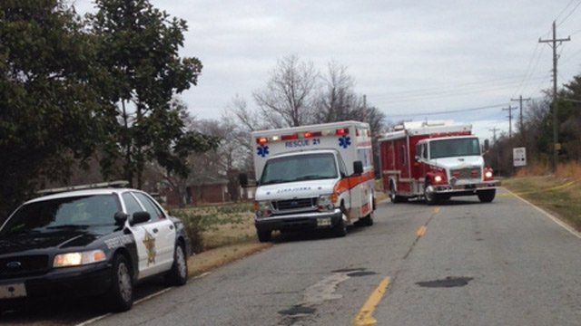 Deputies and first responders at the scene. (March 4, 2014/FOX Carolina iWitness)