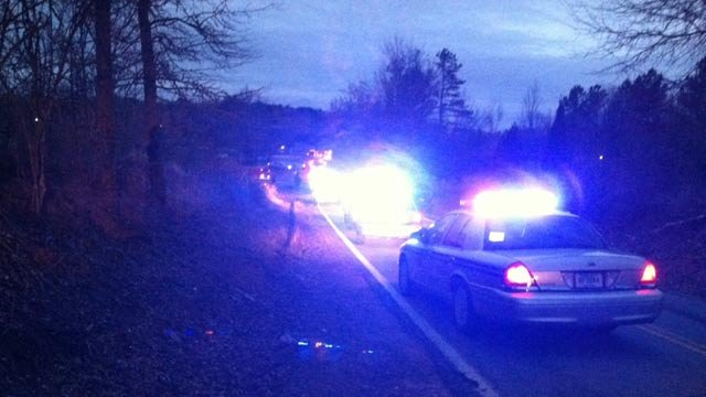 Troopers respond to the fatal crash. (March, 4, 2014/FOX Carolina)