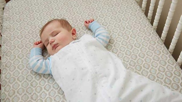 A safe-sleeping infant. (Source: Children's Trust of South Carolina)