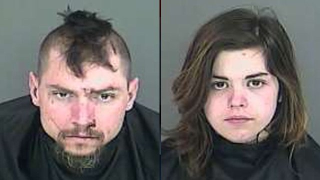 Jared Williams (L) and Hope Phillips (Source: Anderson Co. Detention Center)